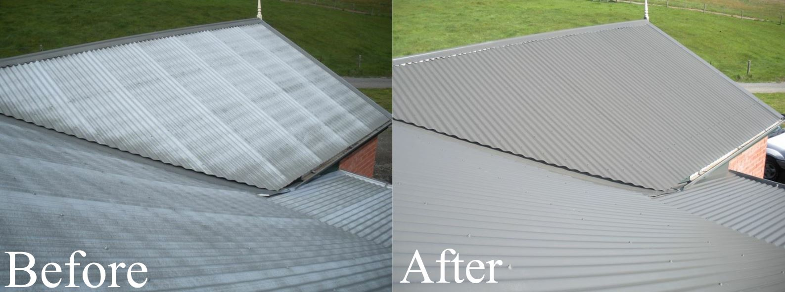 Metal Roof Restoration Hillhouse Roof Rescue