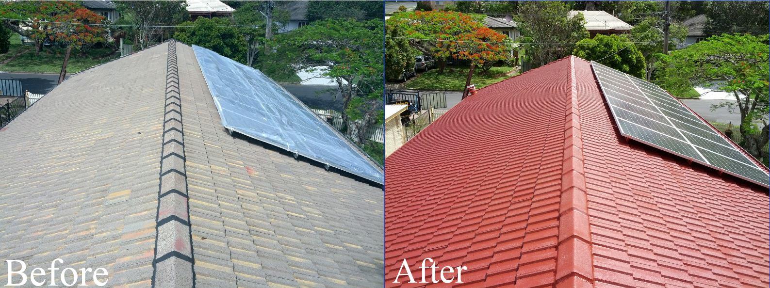 Concrete Tile Roof Restorations Brisbane Roof Restorations